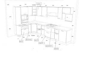 Кухня с радиусными комбинированными фасадами - 296.000 руб.