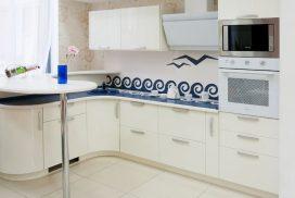 Кухня Анкоридж (эмаль белый глянец)