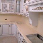 Кухонная столешница, стеновые панели из камня TriStone ST121