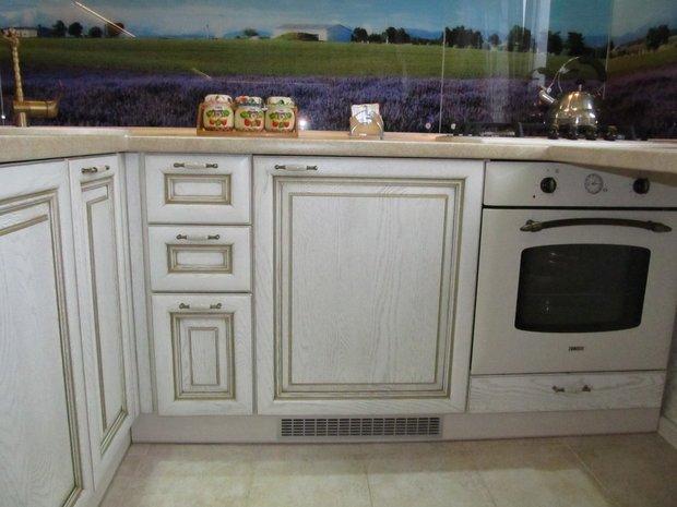 Кухня в стиле Кантри на 6 кв.м.