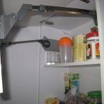 """Кухня с фасадами SIDAK Original пленка ПВХ """"Черный глянец/Белый глянец"""""""
