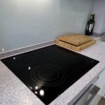 Кухня с фасадами SIDAK Acryl Лаванда/Белый