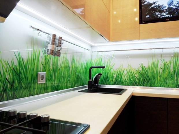 Эко стиль в дизайне современной кухни
