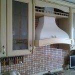 Кухня Бьянка (массив ясеня, тонирование с искусственным старением)