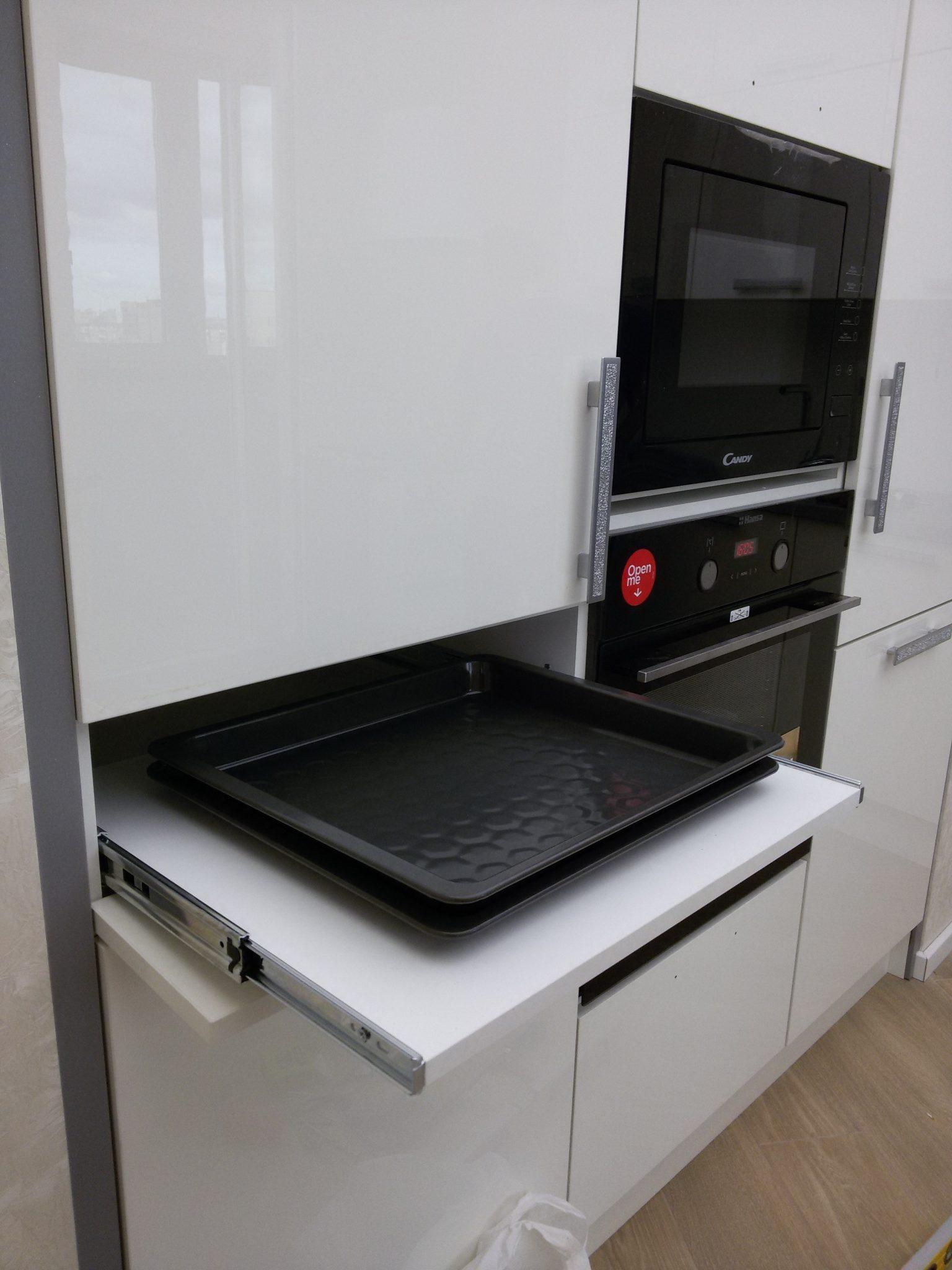 Кухня в частном доме (дер. Кальтино)