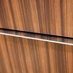 Кухня с фасадами SIDAK Acryl Олива солнечная