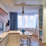Кухня с фасадами Сафари/Кристалл (СитиПласт)