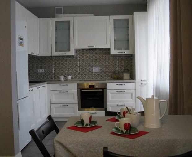 Кухня Порто Бьянко (Массив ясеня)