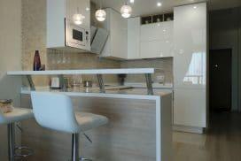 Кухня INTEGRO в интерьере квартиры-студии