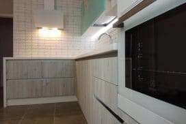 Кухня МДФ Эмаль Turquoise