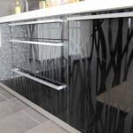 "Кухня с фасадами SIDAK Original пленка ПВХ ""Рифт светлый глянец / Рифт темный глянец"""