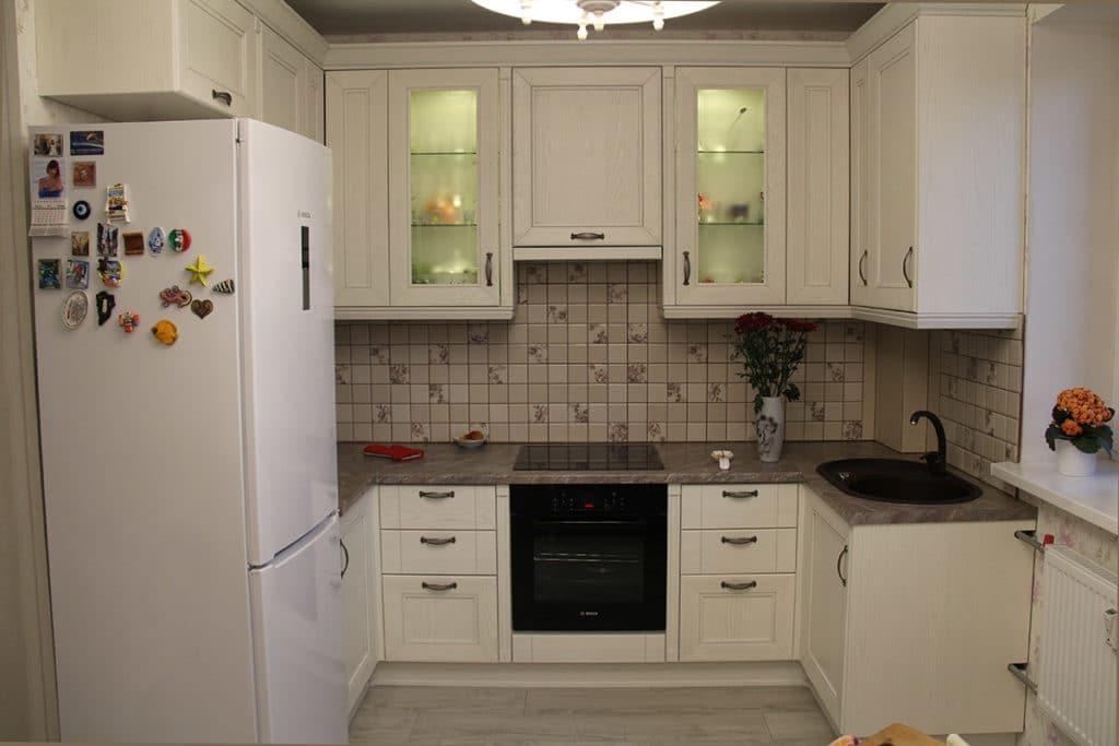 Кухня КВАТРО Белый