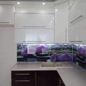 Кухня с фасадами пластик Постформинг