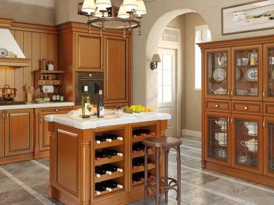 Каталог классических кухонь