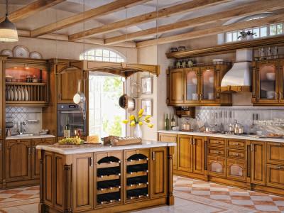 Кухни с Итальянскими фасадами Mobilclan, Ilcam, Santarossa
