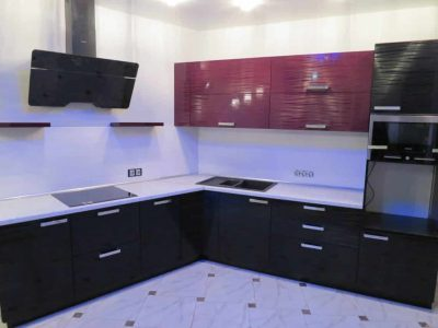 Кухня с фасадами 3D AGT HIGHGLOSS (Турция)