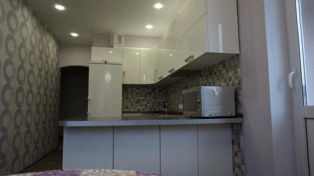 кухня пенал