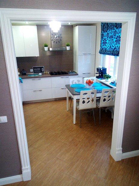 Кухня с особоглянцевыми фасадами Acrylic ISIK AHSAP (Турция)