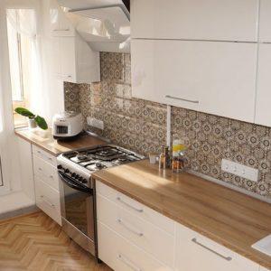 Кухня SCANDINAVIAN PURE WHITE