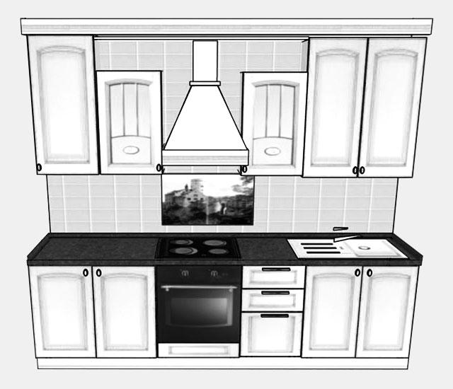 Кухня Колизей Декапе