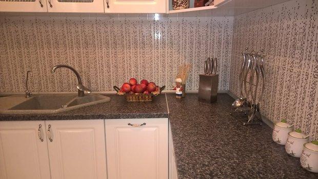 кухонный фартук керамин
