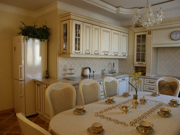 кухня-столовая