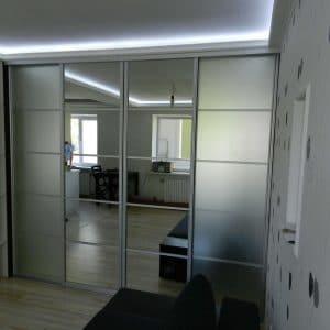 4-х дверные шкафы