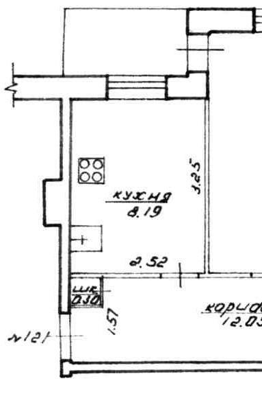 Кухня с фасадами пластик ARPA «Старый дуб Декапе» 4534-NAKED
