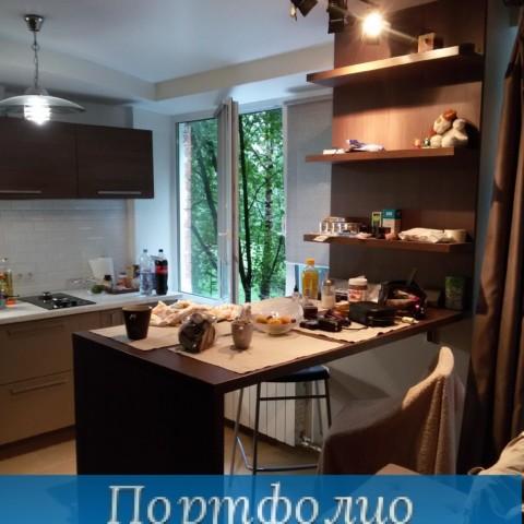 Кухня на Дрезденской ул.