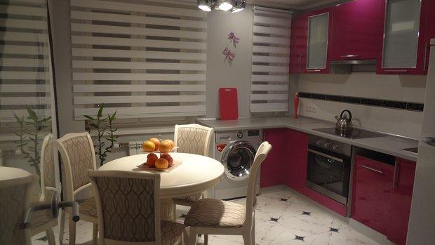 рольшторы день-ночь в кухне