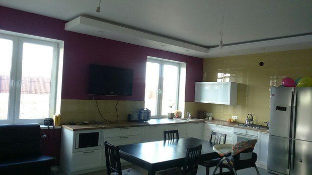 Кухня-гостиная на 28 кв.м.