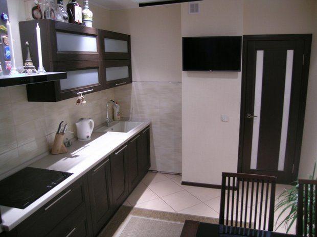 мебель венге в кухне