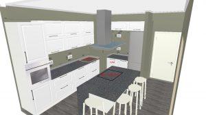 Кухня с пленочными фасадами - 182.000 руб.