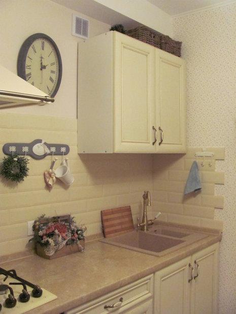 Кухня в стиле Ретро из массива