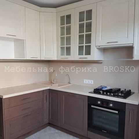 Кухня СКАЛЛИ Мокко/Бьянко